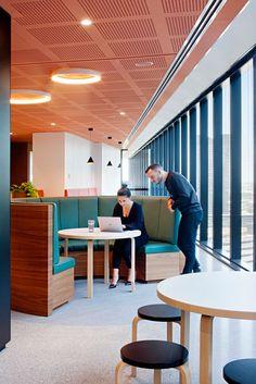 BDO Office - Melbourne #office #design #moderndesign http://www.ironageoffice.com/