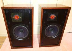 Vintage large Advent Floor standing Hi-Fi Speakers...WOW #Advent