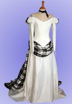 scottish wedding dresses   tartan wedding gown 2 209x300 Tartan wedding gown