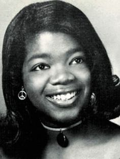 Before They Were Famous Oprah Winfrey