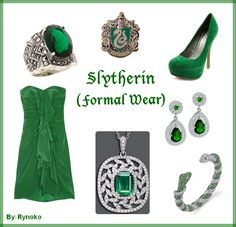 Slytherin Formal Wear - put together by Rynoko (me=StephieDriver)! :D