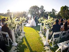 Sunset Hills Country Club Thousand Oaks wedding location Ventura 91360 | Here Comes The Guide