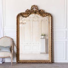 Antique French Gilt Mirror MVP16177 - Eloquence