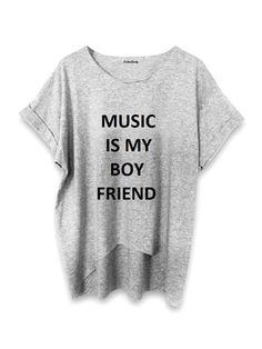MUSIC IS MY BOYFRIEND by ZokoZola di ZokoZola  su DaWanda.com
