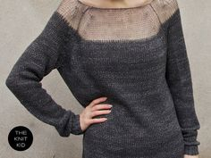 // mohair sweater by theknitkid