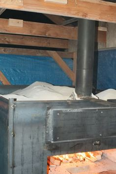 Building a wood fired bread and and pizza oven - Insulation and more Insulation