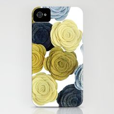Made an iPhone case using a photo of my mom's posies! @Amy Main #amarketcollectiononesty #iphonecase #iphone #phonecase #woolfeltposies #woolfeltflowers