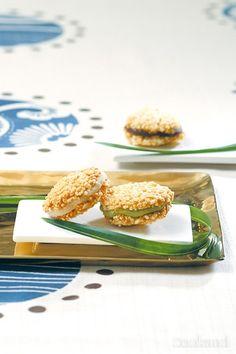 누룽지 마카롱 fried rice macaron