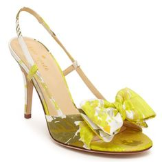 Stop the presses! A bride absolutely needs to design her wedding looks around this shoe. LOVE! / Stella / $328 / kate spade