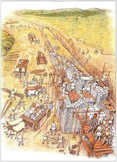 """Early development of Hadrian's Wall"""