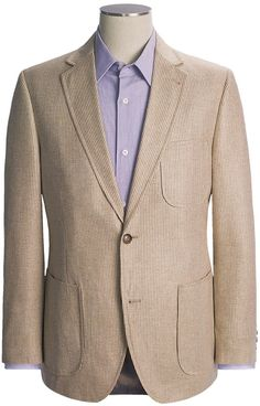 Tan Blazer, Striped Blazer, Trading Post, Blazers For Men, Vertical Stripes, Sport Coat, Interesting Stuff, Men's Fashion, Suit Jacket
