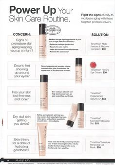 pg 18 of NEW! From-the-Runway Color. Fight the Signs of Early Aging! TimeWise: Night Restore & Recover Complex, Firming Eye Cream, Replenishing Serum+C, Microdermabrasion Set, and Moisture Rewnewing Gel Mask!