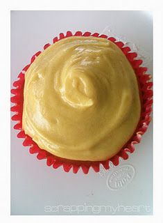 Anzac Cake Cupcakes with Golden Syrup Icing - anzac biscuit flavour in cakey goodness :)  mmmm.....