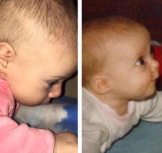 """Wer ist hier wer? Klar ist: Diese beiden Wonneproppen sehen sich SEHR ähnlich! Daniela Katzenberger klärt auf: """"Links: meine Tochter Sophia, rechts ich!""""."""