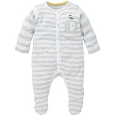 Elephant All In One (€12) ❤ liked on Polyvore featuring baby