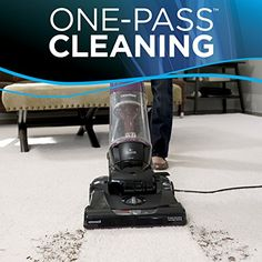 Bissell CleanView Bagless Vacuum with OnePass Cleaning Technology Get The Best Vacuum, Buy Now! Best Upright Vacuum Cleaner, Bagless Vacuum Cleaner, Vacuum Cleaners, Bissell Vacuum, Pet Vacuum, Lightweight Vacuum, Cheap Vacuum