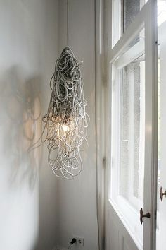 hanging pendant.  Berlin Apartment of Karena Schuessler