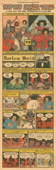 Hip Hop Family Tree, Cold Crush Bros. vs. The Fantastic 5