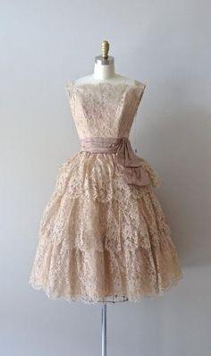 Vintage 1950's lace party dress by joanne