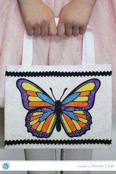 Silhouette Blog - Color-Your-Own Goody Bags