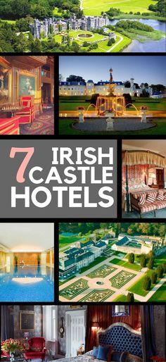 7 family-friendly luxury castle hotels of Ireland will provide a fairy tale Ireland vacation.
