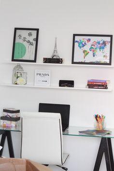 DIY: Faça seu próprio Home Office / Escrivaninha - Blog Lorrine Mondin