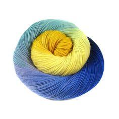 Handpainted - Pakokku Sock Yarn - 'Sterrennacht'