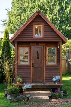 Woman Lives In 84-Foot-Square House And Owns Minimal Possessions. Wow!