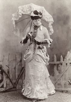 Faces of the Victorian Era, carolathhabsburg:   Unknown actress. Mids 1880s