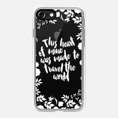Casetify iPhone 7 Case and Other iPhone Covers - This heart of mine was made to…