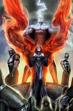 inhumans war of kings by nebezial