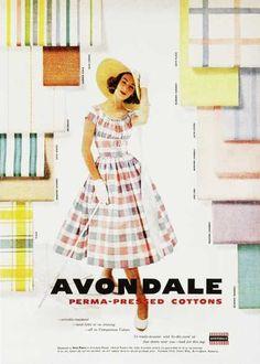 Avondale Perma-pressed Cotton 1950s