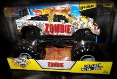 Monster Jam ZOMBIE 1:24 Scale NEW Die-Cast Metal Body 2014 OFF-ROAD Series