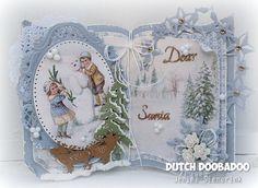 Jenine's Card Ideas: Dutch Doobadoo - Sketch challenge #9