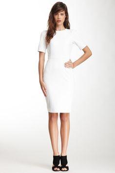 tibi Ponte Paneled Short Sleeve Dress on HauteLook was 440.00 now $135.00