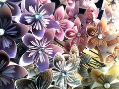 Origami Kusudama Single Flowers by TheCraneFactory on Etsy, $2.00