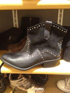 Bershka studded cowboy boot