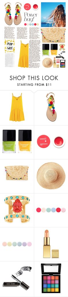 """Tricks Are For Kids!"" by umarijan ❤ liked on Polyvore featuring Lazul, Vanity Fair, Aquazzura, Butter London, Korres, Toast, Maria Francesca Pepe, Nails Inc., Deborah Lippmann and Bobbi Brown Cosmetics"