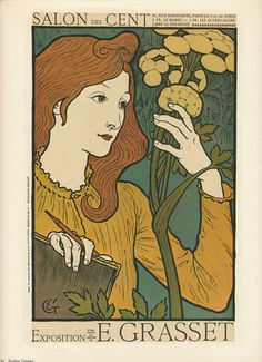 Vintage Art Nouveau Posters  Eugene Grasset and by vintagegoodness, $7.95