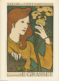 Vintage Art Nouveau Posters  Eugene Grasset and by vintagegoodness, $7.95
