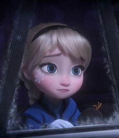 Disney - All Things Geeky — It's like the snowflake is a tear, rolling off her Disney Princess Quotes, Disney Princess Pictures, Disney Princess Drawings, Disney Pictures, Disney Drawings, Little Disney Princess, Disney Babys, Disney Rapunzel, Disney Frozen Elsa