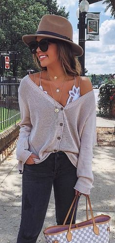 Fall brunch outfit the dress ideas for 2019 Fall Winter Outfits, Autumn Winter Fashion, Spring Outfits, Fall Fashion 2018, Fall Outfits 2018, Girls Fall Outfits, Casual Winter, Winter Style, Casual Brunch Outfit