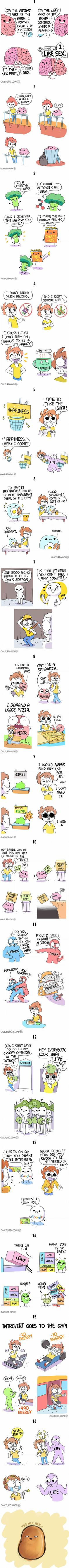 Brilliant Owlturd comic strips they are just a little too relatable