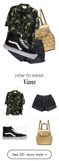 """""""• J U N G L E •"""" by louwrinktjappie on Polyvore featuring Mulberry, Levi's, Gucci and Vans"""