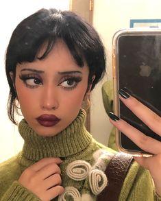 Home / Twitter Edgy Makeup, Skin Makeup, Makeup Inspo, Makeup Art, Makeup Inspiration, Beauty Makeup, Hair Beauty, 60s Makeup, Cute Makeup Looks