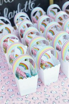 Unicorn Party Decoration Ideas Best Of Qifu Unicorn Party Supplies Favors Bottle Gift Stickers Unicorn Birthday Party Decorations Kids Unicorn Decor Unicornio Decor Rainbow Unicorn Party, Rainbow Birthday Party, 4th Birthday Parties, Birthday Party Decorations, Rainbow Theme, Unicorn Party Bags, 5th Birthday, Kids Rainbow, Birthday Cake