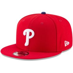 Philadelphia Phillies New Era Team Color 9FIFTY Adjustable Hat – Red. Gorras SombrerosColorMlbProductos ff8486f97f9