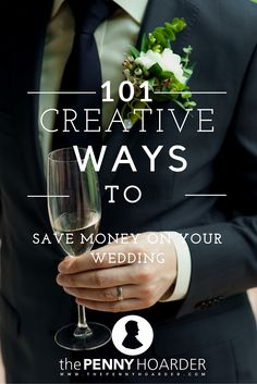 Struggling to stick to your wedding budget while including elements of the big day that are important to you? Planning a wedding on a budget isn't easy, but these ideas and strategies will help you create the perfect celebration of your love without breaking the bank. - The Penny Hoarder http://www.thepennyhoarder.com/101-creative-ways-save-money-wedding/