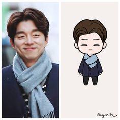 Gong Yoo Goblin Wallpaper, Gong Yoo Shirtless, Train To Busan Movie, Goblin Korean Drama, Goong Yoo, Goblin Gong Yoo, Goblin Kdrama, Chibi Wallpaper, Korean Drama Quotes