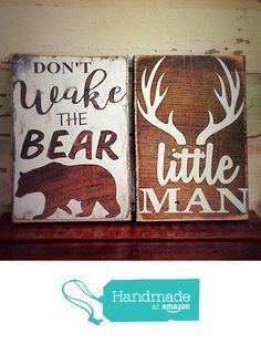 rustic deer nursery sign, rustic nursery décor, rustic home décor, woodland nursery sign, deer nursery sign, from DoodlesbyTrista https://www.amazon.com/dp/B01BJ8BZ9G/ref=hnd_sw_r_pi_awdo_9w4xxb63361PJ #handmadeatamazon